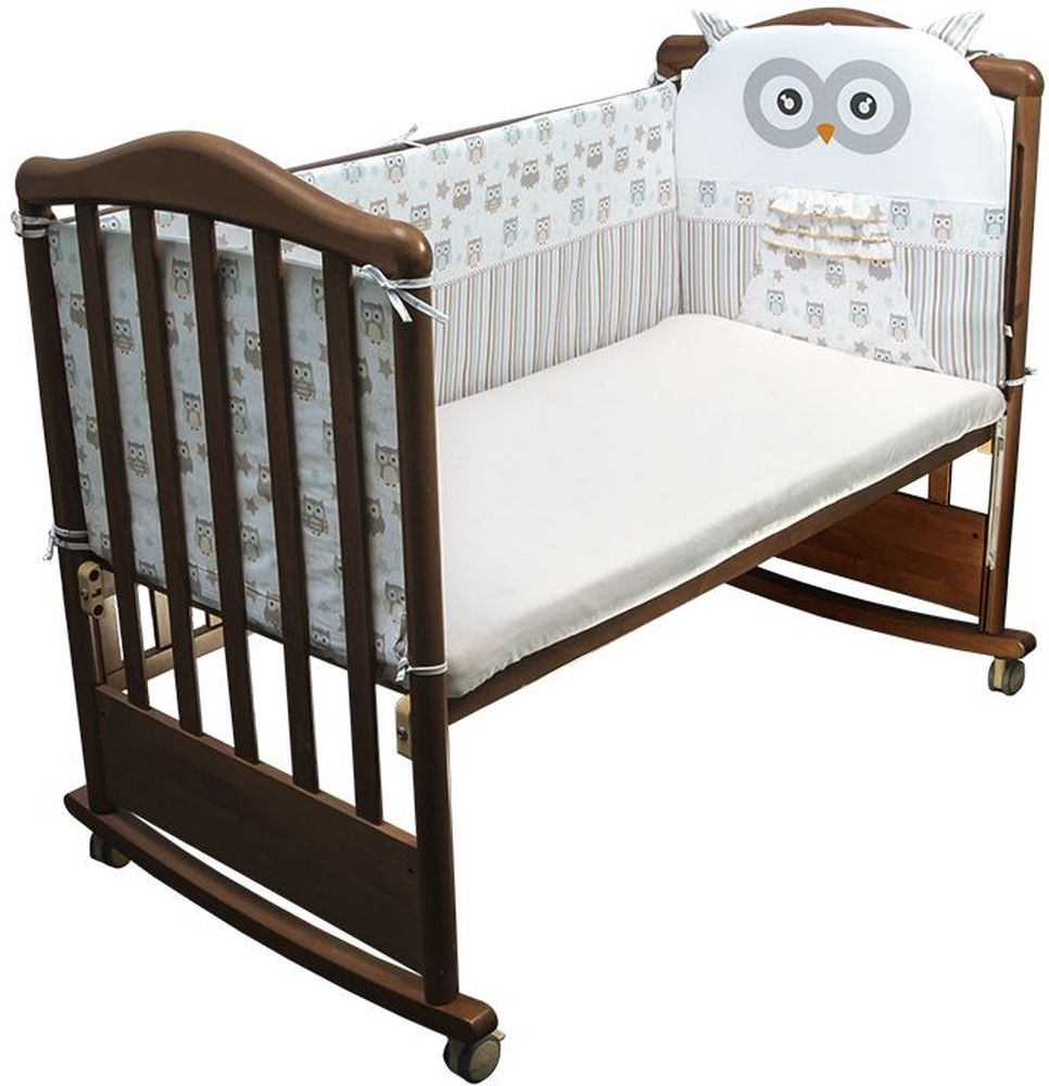 Сонный гномик Бортик для кровати Софушки цвет бежевый - Детская комната