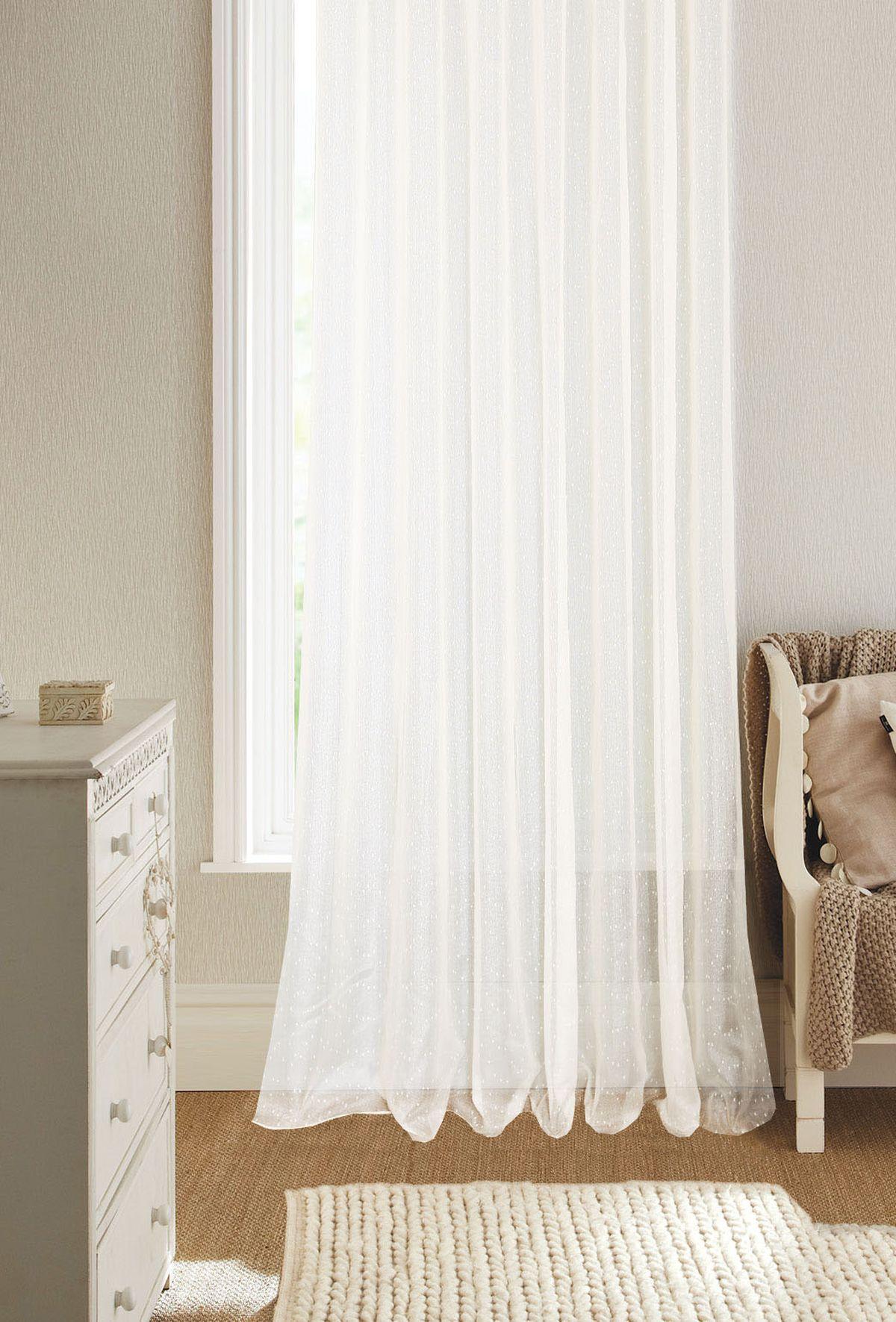 Штора Garden, на ленте, цвет: белый, 300 х 260 см. С W015 V71002С W015 V71002Изящная штора для гостиной Garden выполнена из ткани с оригинальной структурой. Приятная текстура и цвет штор привлекут к себе внимание и органично впишутся в интерьер помещения. Штора крепится на карниз при помощи ленты, которая поможет красиво и равномерно задрапировать верх.