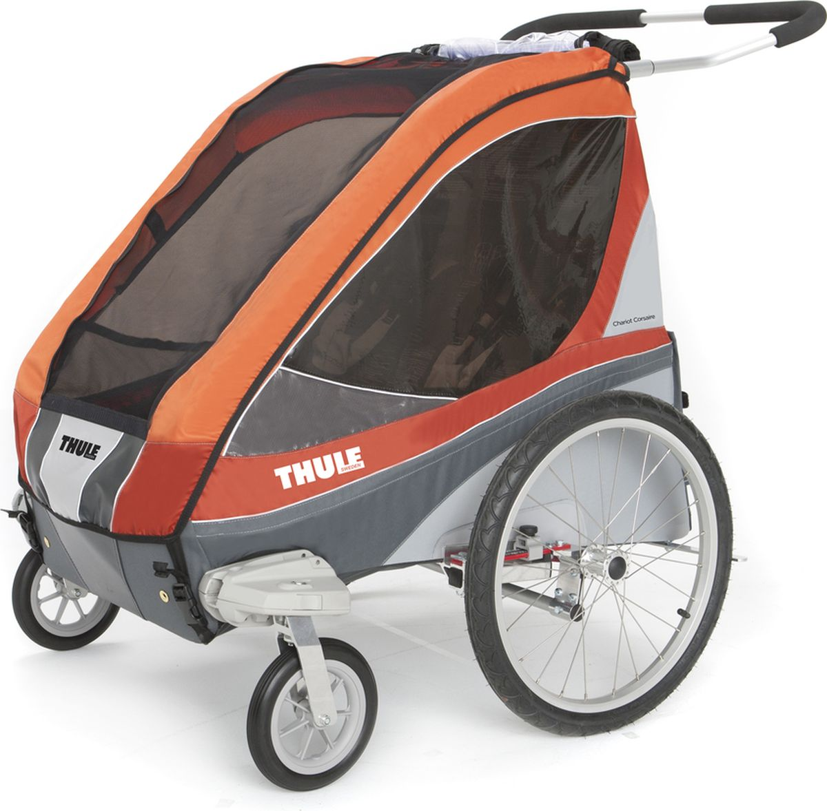Thule Коляска-трансформер Chariot Corsaire 2 цвет абрикосовый teddy коляска 2 в 1 giovani цвет серый