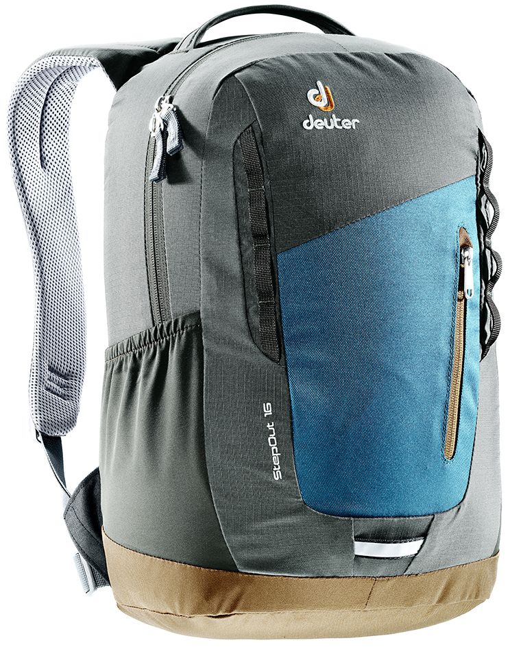 Рюкзак Deuter Daypacks StepOut 16, цвет: серый, 16 л рюкзак deuter daypacks stepout 12 dresscode black