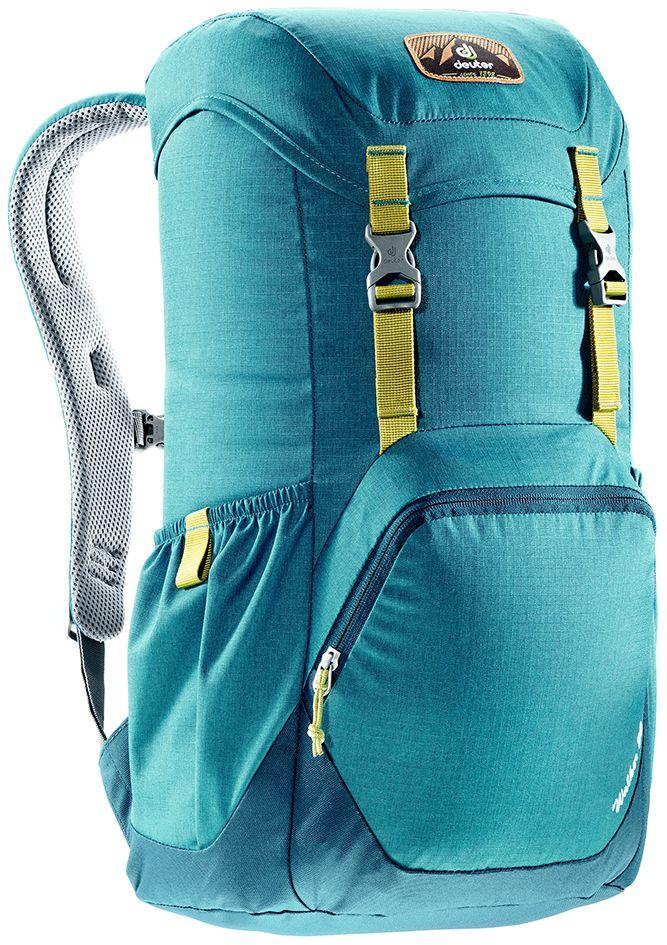 Рюкзак Deuter Walker 20, цвет: голубой, темно-синий, 20 л