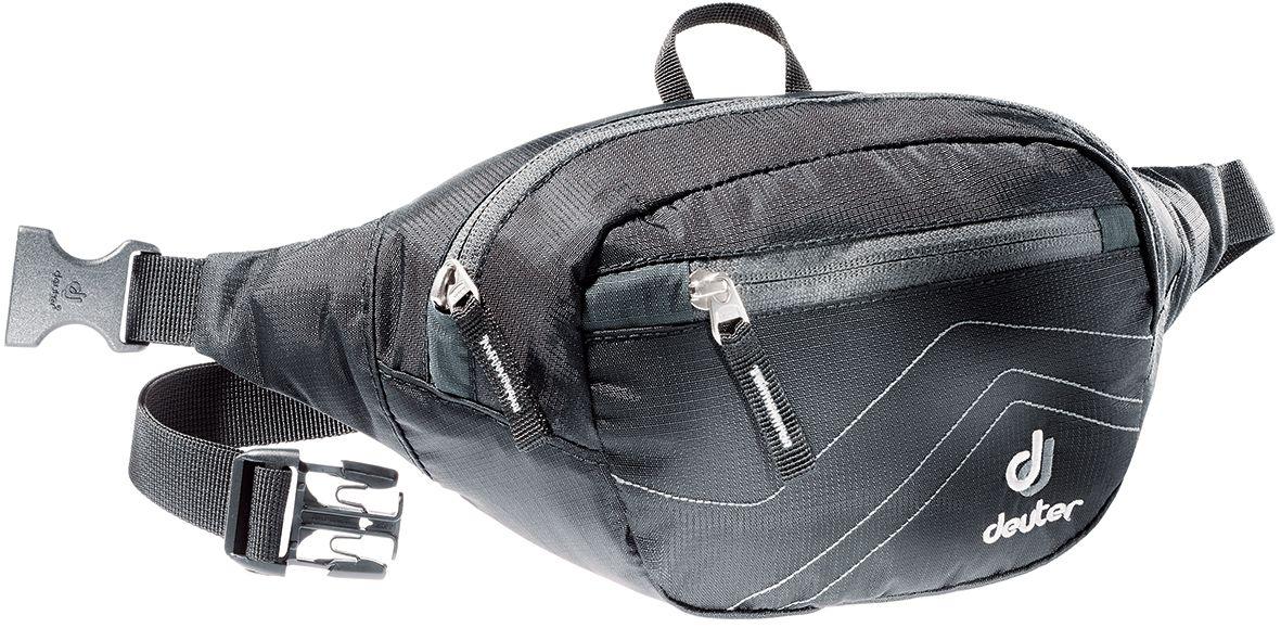 Сумка поясная Deuter Belt I, цвет: серый, черный