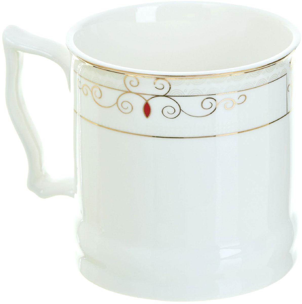 Кружка BHP Королевская кружка, 500 мл. 18700031870003Оригинальная кружка Best Home Porcelain, выполненная из высококачественного фарфора, сочетает в себе простой, утонченный дизайн с максимальной функциональностью.Можно использовать в посудомоечной машине.