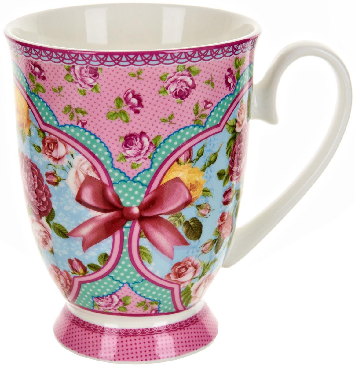 Кружка Polystar Розовый нектар, 360 млL0990560Оригинальная кружка Polystar, выполненная из фарфора, сочетает в себе изысканный дизайн с максимальной функциональностью.Красочность оформления кружки придется по вкусу и ценителям классики, и тем, кто предпочитает утонченность и изысканность. Можно использовать в микроволной печи и мыть в посудомоечной машине.Объем: 360 мл.