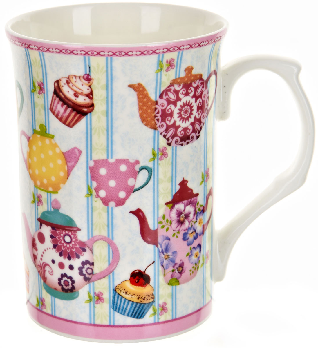 Кружка Polystar Английское чаепитие, 250 мл polystar кружка романс 310 мл