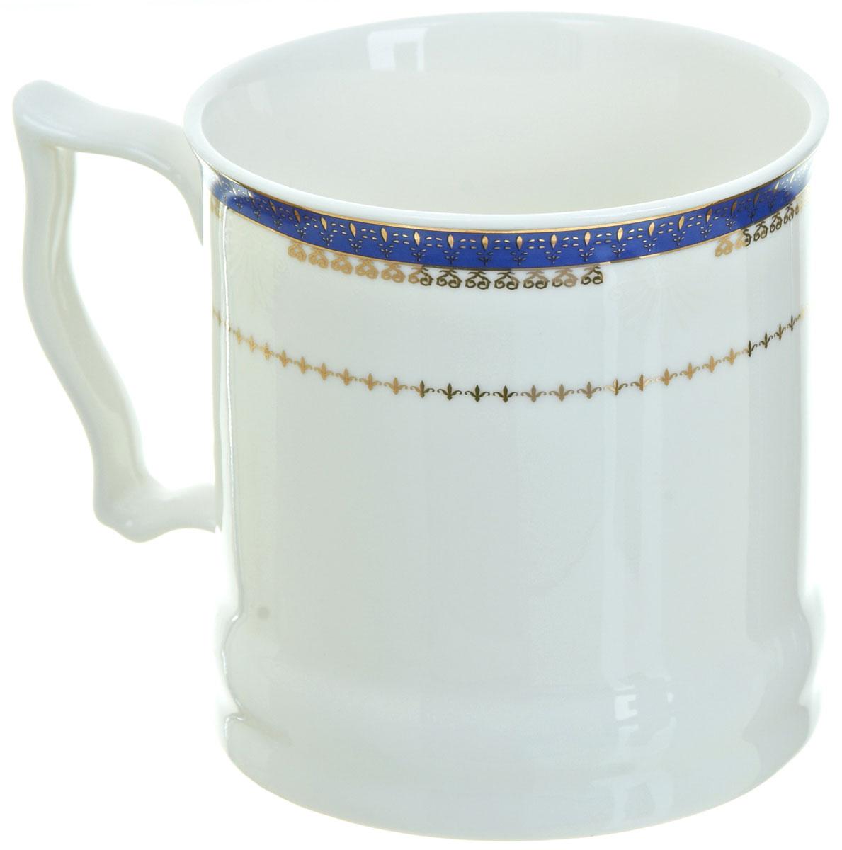 Кружка BHP Королевская кружка, 500 мл. M1870002M1870002Оригинальная кружка Best Home Porcelain, выполненная из высококачественного фарфора, сочетает в себе простой, утонченный дизайн с максимальной функциональностью.Можно использовать в посудомоечной машине.