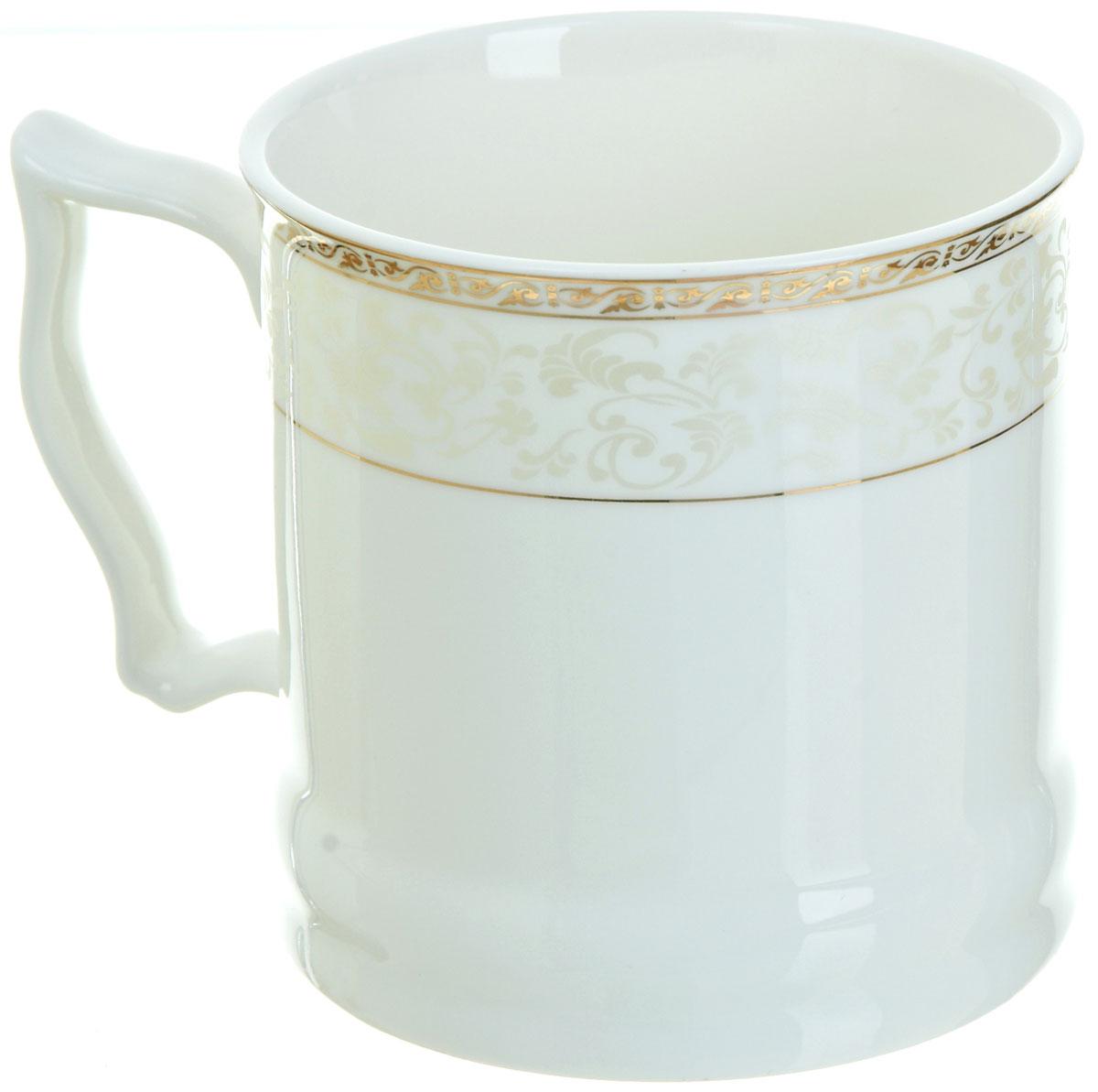 Кружка BHP Королевская кружка, 500 мл. M1870004M1870004Оригинальная кружка Best Home Porcelain, выполненная из высококачественного фарфора, сочетает в себе простой, утонченный дизайн с максимальной функциональностью. Оригинальность оформления придутся по вкусу тем, кто ценит индивидуальность.