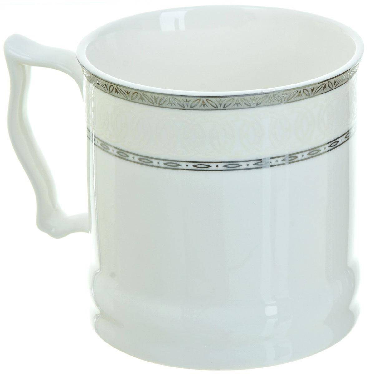 Кружка BHP Королевская кружка, 500 мл. M1870006M1870006Оригинальная кружка Best Home Porcelain, выполненная из высококачественного фарфора, сочетает в себе простой, утонченный дизайн с максимальной функциональностью. Можно использовать в посудомоечной машине.