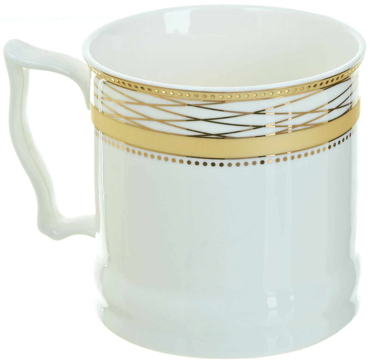 Кружка BHP Королевская кружка, 500 мл. M1870008M1870008Оригинальная кружка Best Home Porcelain, выполненная из высококачественного фарфора, сочетает в себе простой, утонченный дизайн с максимальной функциональностью.Можно использовать в посудомоечной машине.