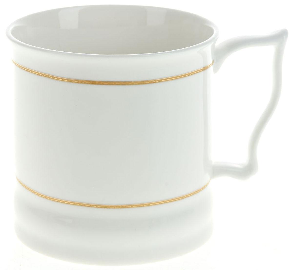 Кружка BHP Королевская кружка, 500 мл. M1870041M1870041Оригинальная кружка Best Home Porcelain, выполненная из высококачественного фарфора, сочетает в себе простой, утонченный дизайн с максимальной функциональностью.Можно использовать в посудомоечной машине.