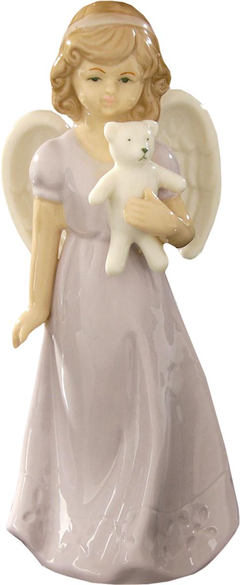 Сувенир пасхальный Sima-land Ангел с мишуткой, 15 х 6 х 5 см сувенир пасхальный sima land ангел с розочкой на платье 13 х 8 х 6 см