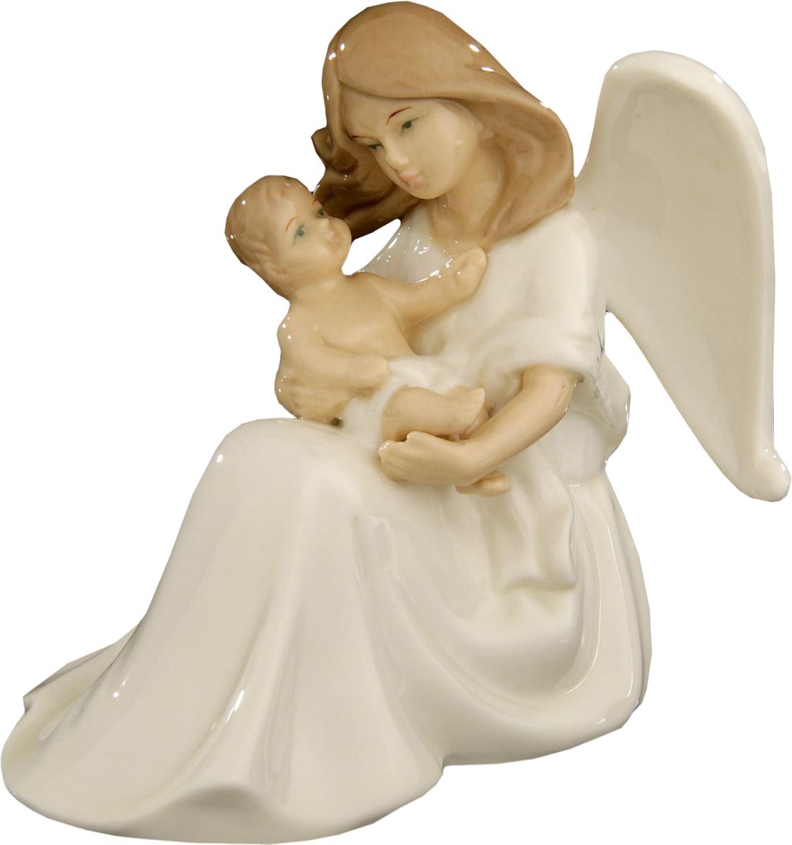 Сувенир пасхальный Sima-land Ангел-хранитель, 11 х 12 х 7 см сувенир пасхальный sima land ангел с розочкой на платье 13 х 8 х 6 см
