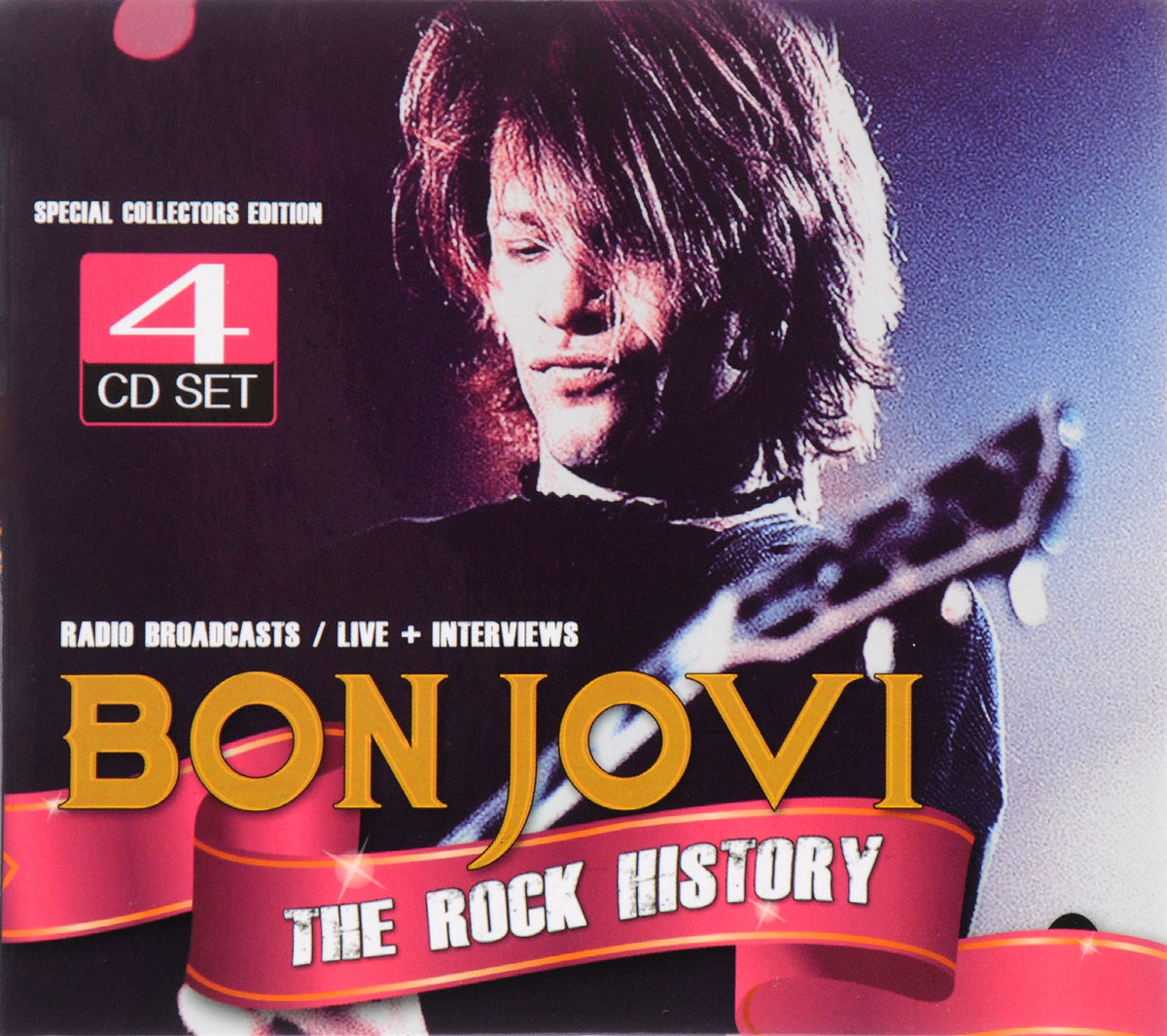 Bon Jovi Bon Jovi. The Rock History. Special Collectors Edition (4 CD) cd ac dc the razor's edge special edition digipack