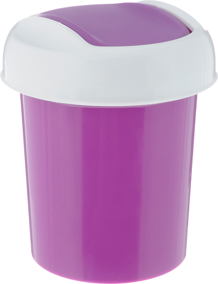 Контейнер для мусора Svip Ориджинал, настольный, цвет: аметист, 1 лСТП2_телефонная будкаКонтейнер для мусора Svip Ориджинал изготовлен из высококачественного прочного пластика. Такой аксессуар очень удобен в использовании как дома, так и в офисе. Контейнер снабжен удобной крышкой с подвижной перегородкой.Стильный дизайн сделает его прекрасным украшением интерьера. Можно мыть в посудомоечной машине.Размер контейнера: 11 х 11 х 15 см, Диаметр крышки: 12 см,Объем контейнера: 1 л.