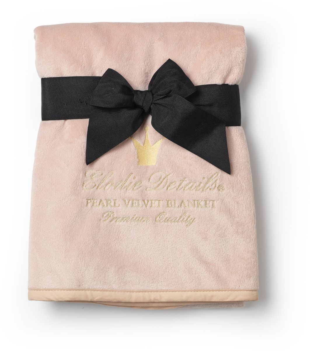 Elodie Details Плед детский Powder Pink 75 см х 100 см -  Детский текстиль