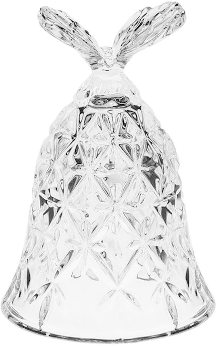 Фигурка декоративная Crystal Bohemia Колокольчик. Бабочка, высота 12 см920/13110/0/65400/120-109Декоративная фигурка Crystal Bohemia Колокольчик. Бабочка, выполнена из настоящего чешского хрусталя с содержанием оксида свинца 24%, что придает изделиям поразительную прозрачность и чистоту, невероятный блеск, присущий только ювелирным изделиям, особое, ни с чем не сравнимое светопреломление и игру всеми красками спектра как при естественном, так и при искусственном освещении. Такая фигурка отлично украсит интерьер любого помещения.Высота: 12 см.