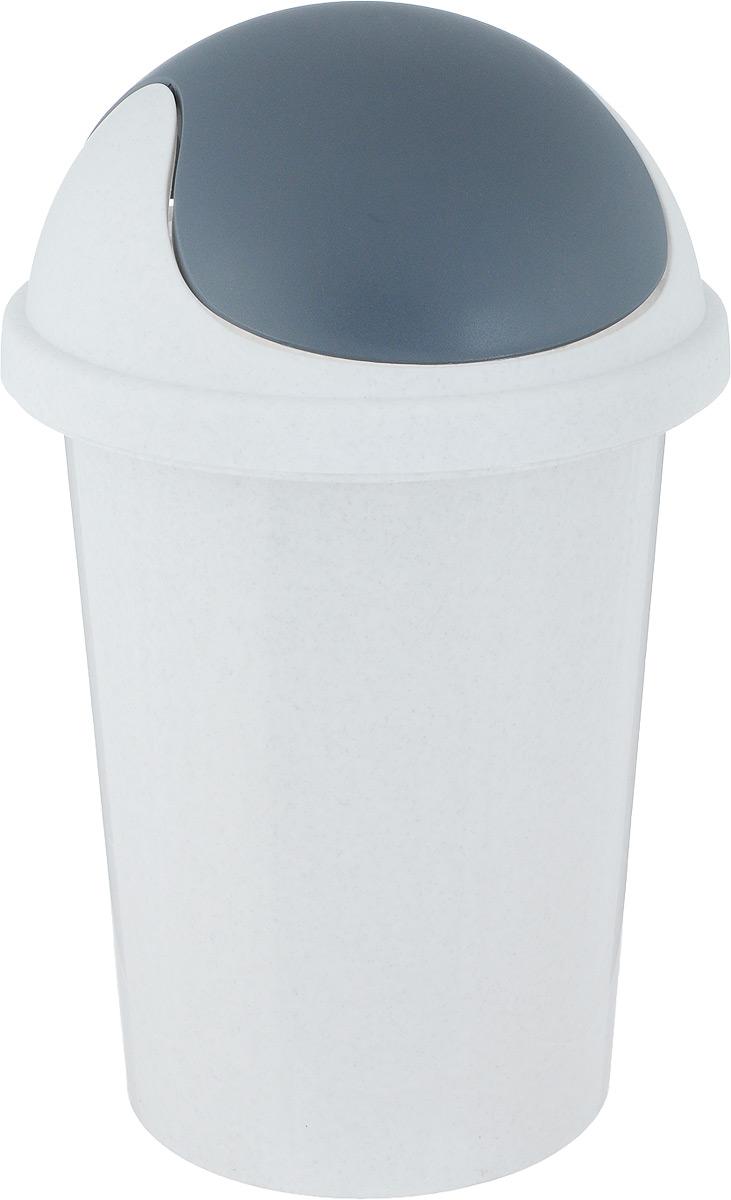 Контейнер для мусора Plastic Centre, цвет: мраморный, 10 лПЦ2547МРМусорный контейнер Plastic Centre поможет поддержать порядок и чистоту накухне, в туалетной комнате или в офисе. Контейнер выполнен из полипропилена.Изделие оснащено крышкой-качалкой, которая удобна в использовании. Скрытые борта в корпусе изделия для аккуратного использования одноразовых пакетов и сохранения эстетики изделия. Съемная верхняя частьконтейнера обеспечивает удобство извлечения накопившегося мусора. Эстетика изделия превращает необходимый предмет кухни или туалетной комнатыв стильное дополнение к интерьеру. Его легкость и прочность оптимально решаютпроблему сбора мусора. Размер: 26,7 х 26,7 х 42 см.