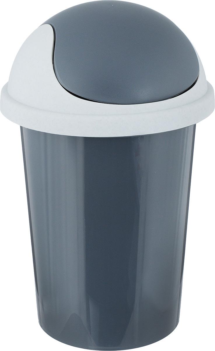 Контейнер для мусора Plastic Centre, цвет: темно-серый, 10 лПЦ2547ТСРМусорный контейнер Plastic Centre поможет поддержать порядок и чистоту накухне, в туалетной комнате или в офисе. Контейнер выполнен из полипропилена.Изделие оснащено крышкой-качалкой, которая удобна в использовании. Скрытые борта в корпусе изделия для аккуратного использования одноразовых пакетов и сохранения эстетики изделия. Съемная верхняя частьконтейнера обеспечивает удобство извлечения накопившегося мусора. Эстетика изделия превращает необходимый предмет кухни или туалетной комнаты в стильное дополнение к интерьеру. Его легкость и прочность оптимально решают проблему сбора мусора. Размер: 26,7 х 26,7 х 42 см.