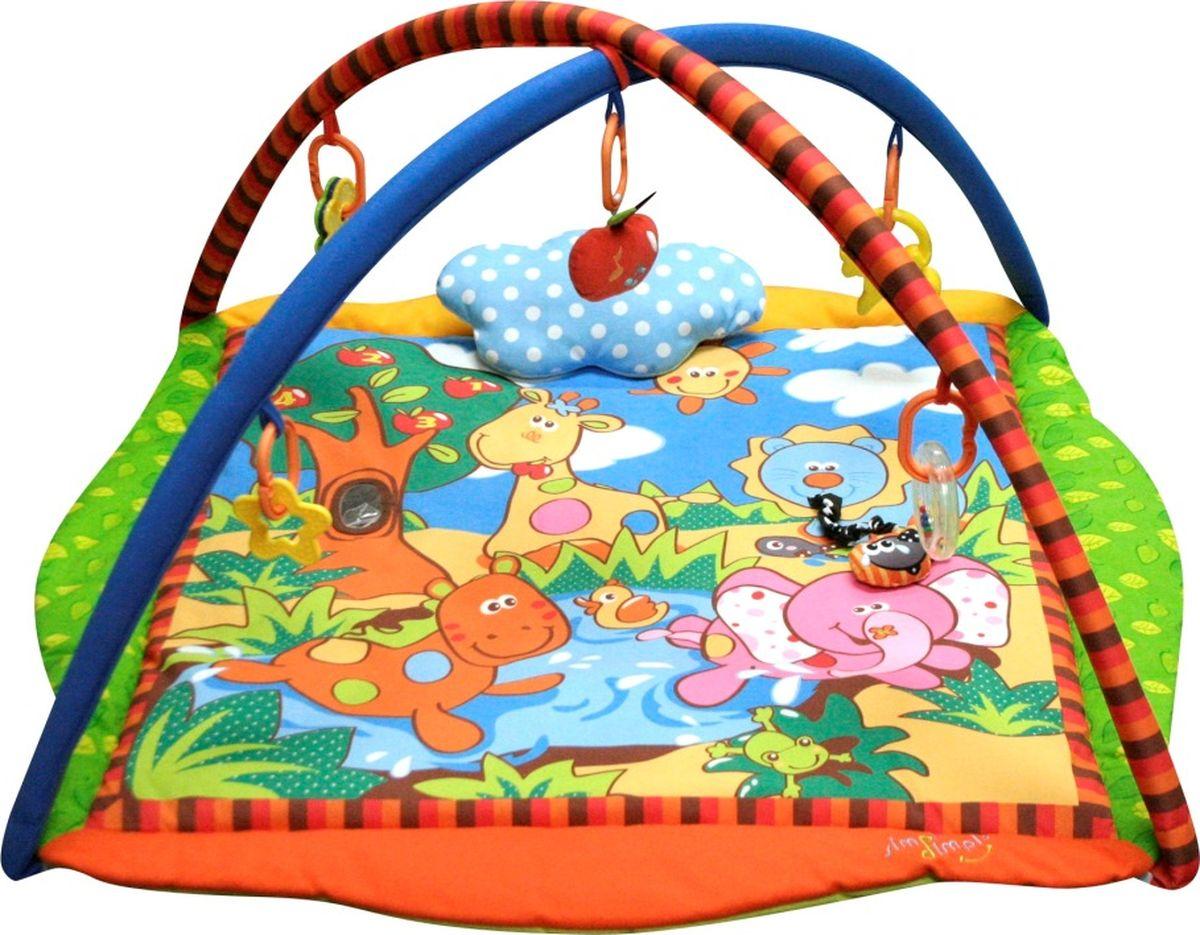 MERX Развивающий коврик Лесные друзья развивающий коврик baby mix мишка на волнах 3261ce 62104