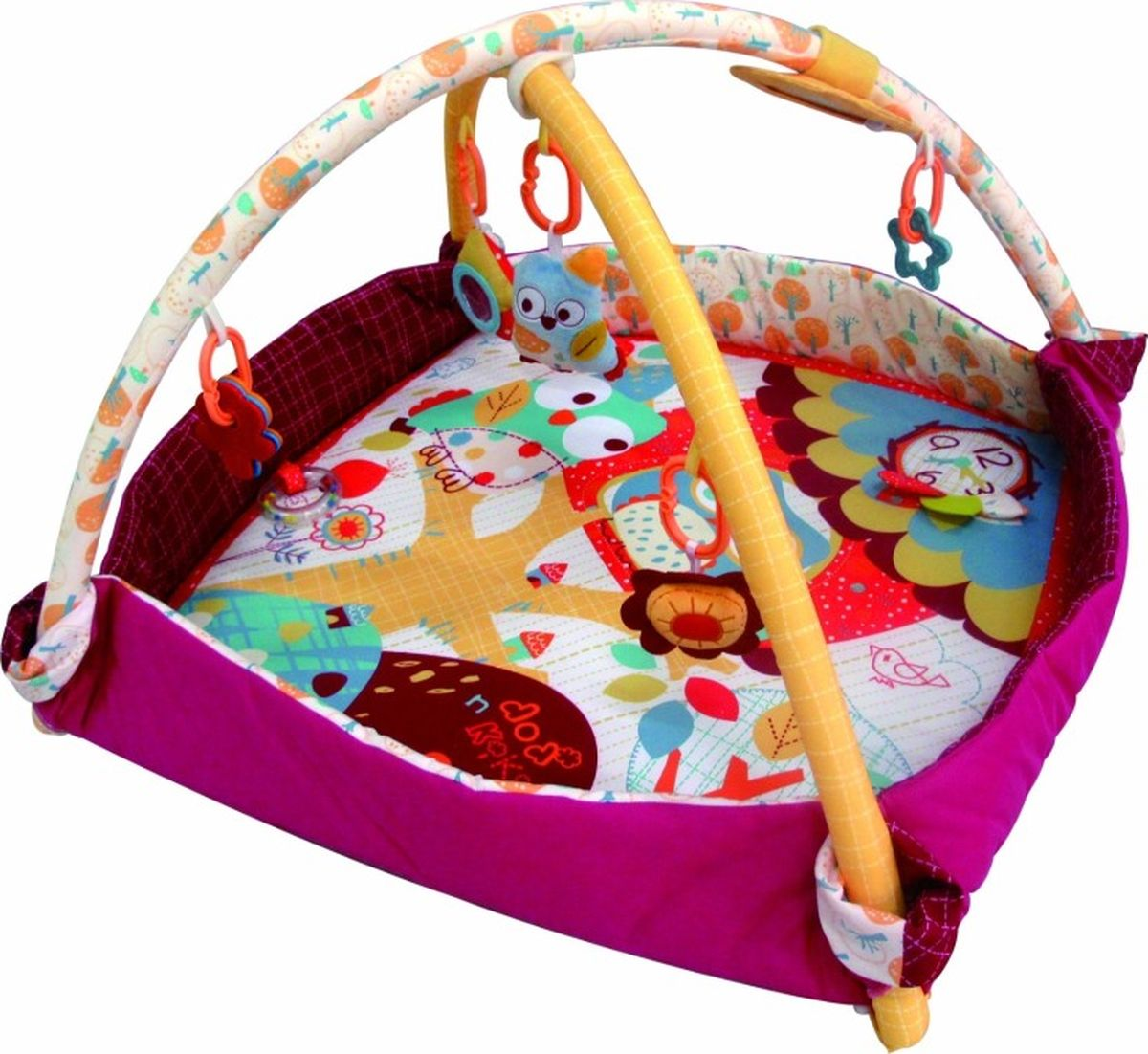 MERX Развивающий коврик-бассейн Додо и Кики