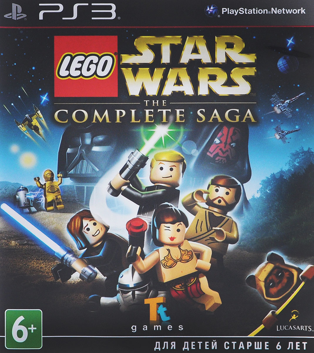 LEGO Star Wars: The Complete Saga (PS3), Traveller's Tales