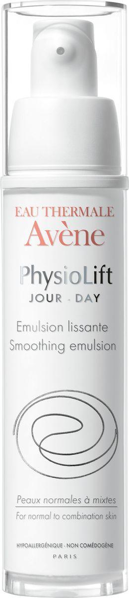 Avene Дневная разглаживающая эмульсия Physio Lift от глубоких морщин, 30 млC52633Дневная эмульсия Физиолифт разглаживает глубокие морщины, увлажняет кожу и повышает ее упругость благодаря эксклюзивному запатентованному* комплексу взаимодополняющих активных антивозрастных компонентов. АскофилинТM – активный и высокотехнологичный антивозрастной компонент, восстанавливающий структуру кожи. Моно-олигомеры гиалуроновой кислоты - интенсивно стимулируют выработку натуральной гиалуроновой кислоты в коже, благодаря особому размеру, обеспечивают заполнение морщин и делают кожу визуально более объемной. Претокоферил – мощный антиоксидант, защищает кожу, сохраняя ее сияние.Благодаря легкой текстуре, обладающей нежным ароматом и высокому содержанию успокаивающей Термальной воды Avene в составе, Дневная эмульсия Физиолифт делает нормальную и комбинированную кожу мягкой и эластичной, обеспечивая матирующий эффект.