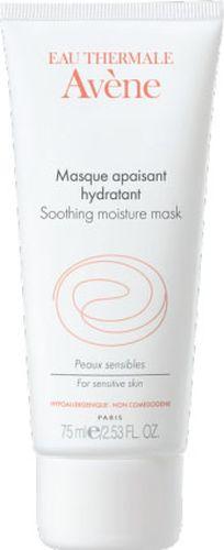 Avene Успокаивающая увлажняющая маска Sensibles для лица 50 млC05139Успокаивающая увлажняющая маска обеспечит вашей коже настоящий успокаивающий и восстанавливающий уход:• Термальная вода Avene в высокой концентрации успокаивает и снимает раздражение кожи. • Питательные и увлажняющие компоненты восстанавливают кожный барьер и поддерживают оптимальный уровень увлажнения** кожи. Маска, нанесенная толстым слоем, хорошо впитывается, благодаря своему уникальному составу. Кожа становится мягкой, нежной и сияющей.