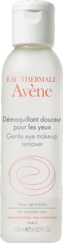Avene Мягкий лосьон Soins des yeux для снятия макияжа с глаз 125 млC05137Лосьон имеет особую гелевую текстуру, разработанную специально для снятия макияжа с чувствительной кожи вокруг глаз. Особенно рекомендуется женщинам, использующим контактные линзы. Свойства:Благодаря высокому содержанию термальной воды Avene с успокаивающими и снимающими раздражение свойствами лосьон не пересушивает чувствительную кожу век. Формула, не содержащая агрессивных очищающих компонентов, мягкоудаляет макияж. Нежирная гелевая текстура лосьона предотвращает сухость век. Обладая уровнем рН идентичным рН человеческой слезы, лосьон очень хорошо переносится.