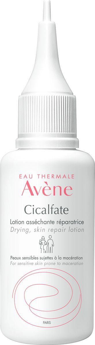 Avene Подсушивающий, заживляющий лосьон Cicalfate для лица и тела 40 мл авен сикальфат лосьон подсушивающий 40мл