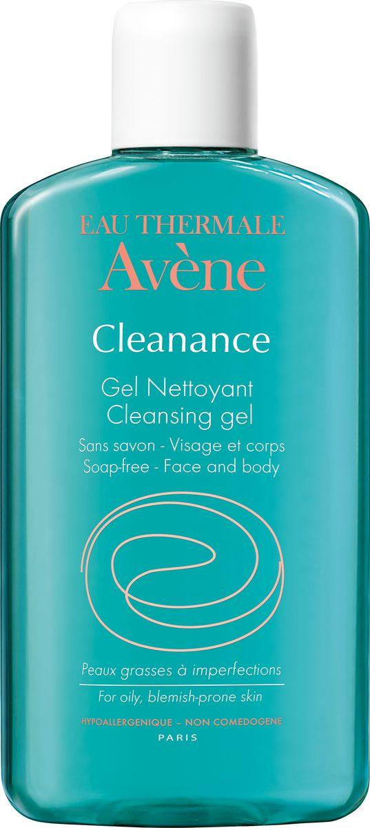 Avene Очищающий гель Сleanance для лица и тела 200 мл avene cleanance лосьон очищающий матирующий 200 мл