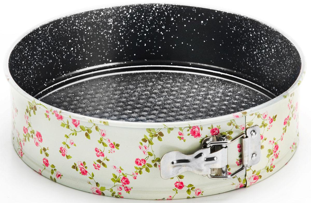 Форма для выпечки Mayer & Boch, разъемная, круглая, диаметр 22 см. 2618426184Форма для выпечки Mayer & Boch изготовлена из высококачественной углеродистой стали с антипригарным покрытием. Толщина стенок составляет 4 мм, что обеспечивает изделию долговечность. Форма имеет разъемный механизм и съемное дно, поэтому вынимать готовую выпечку очень легко. Выпечка не пригорает и не прилипает к стенкам. Антипригарное покрытие формы не вступает в реакцию с продуктами питания. После использования форма легко и быстро моется. Не использовать для мытья абразивные моющие средства и губки с абразивным покрытием. Подходит для использования в духовках. Не подходит для использования в СВЧ. Подходит для мытья в посудомоечных машинах.