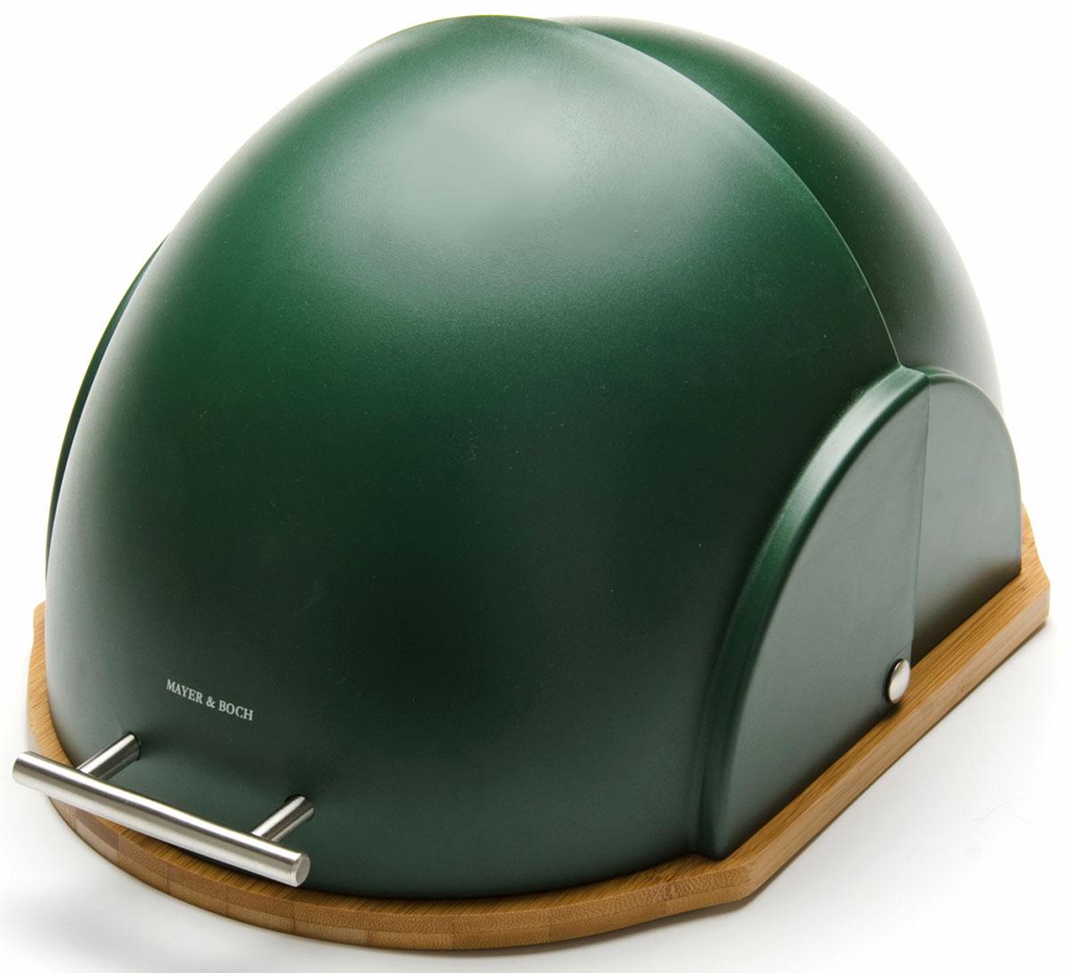 Хлебница Mayer & Boch, 27 х 21 х 38 см. 2626126261Хлебница Mayer & Boch, выполненная в эксклюзивном дизайне из экологически чистых материалов, поможет надолго сохранить ваш хлеб свежим. Крышка хлебницы имеет надежный механизм и не занимает дополнительного места для открытия, легко и бесшумно открывается и закрывается. Яркий дизайн, эстетичность и функциональность сделают хлебницу превосходным аксессуаром на вашей кухне.