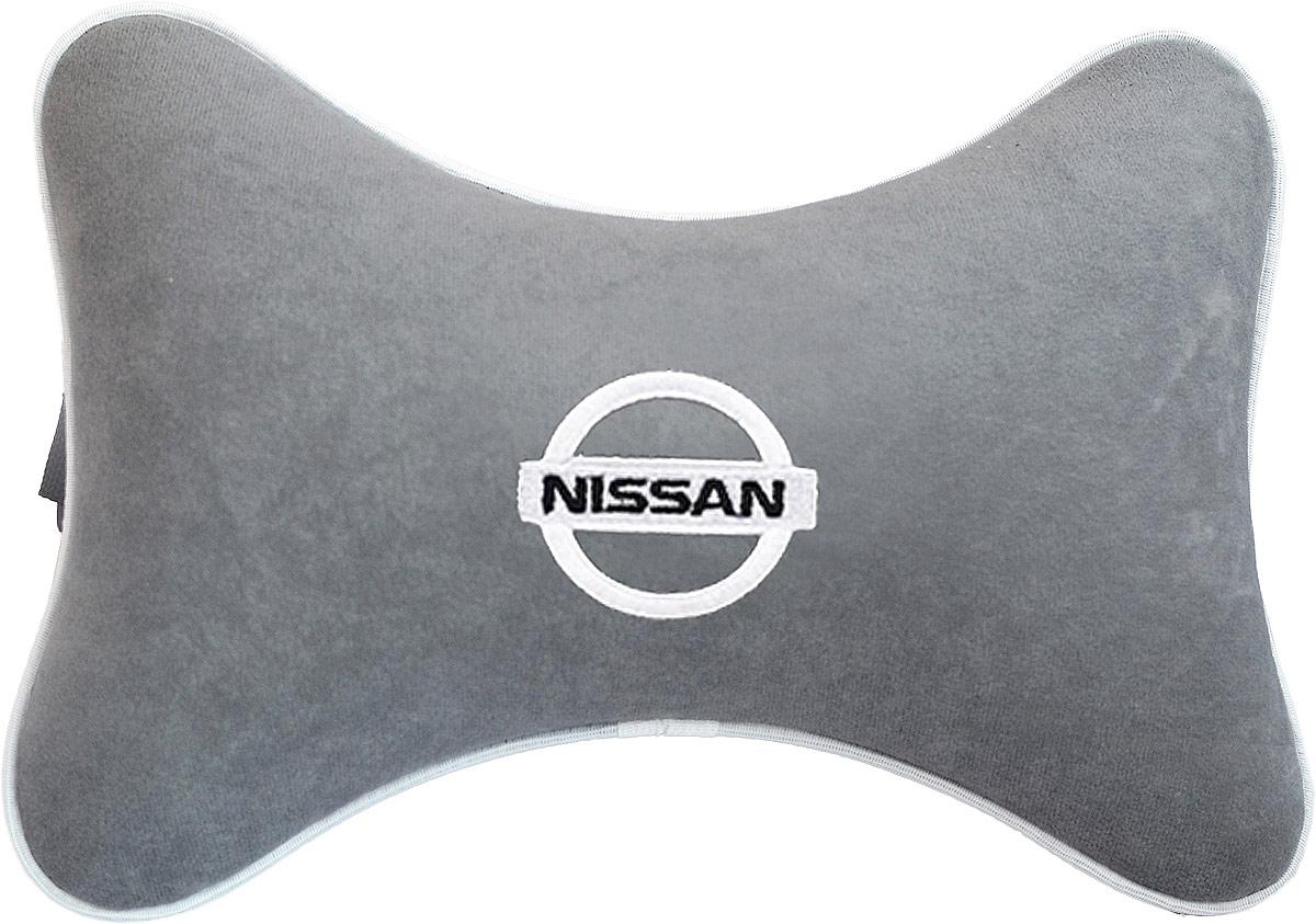 Купить Подушка на подголовник Auto Premium Nissan , цвет: серый. 37443