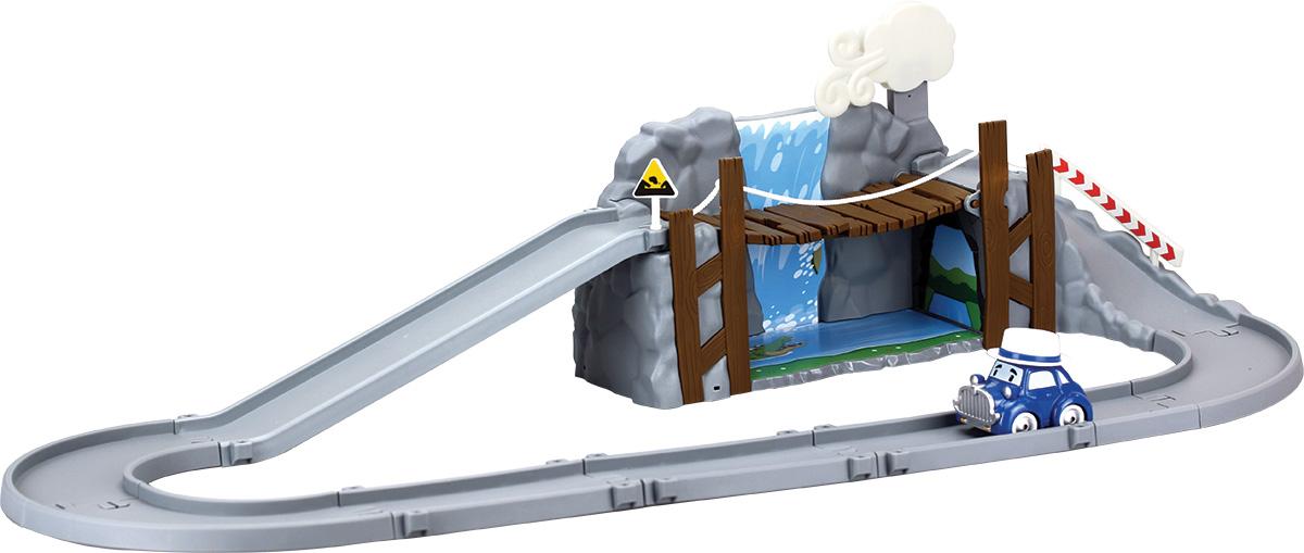 Robocar Poli Игрушечный трек Обрушающийся мост