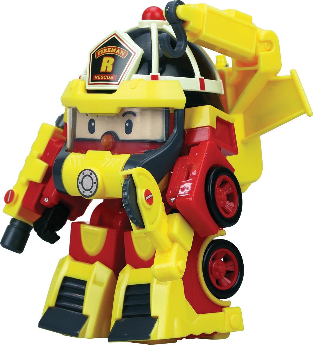 Robocar Poli Трансформер Рой Пожарный машинка трансформер robocar poli рой
