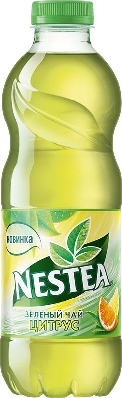 Nestea Цитрус зеленый чай, 1 л404602Освежающий чай Nestea или айс-ти (от английского ice-tea ледяной чай) - это напиток без консервантов, приготовленный из лучших сортов чая с добавлением фруктовых и ягодных соков. Обладает натуральным вкусом с уникальным сочетанием чая и свежих фруктов. Полное отсутствие консервантов, ароматизаторов, идентичных натуральным.Уважаемые клиенты! Обращаем ваше внимание на то, что бутылка может иметь несколько видов дизайна. Поставка осуществляется в зависимости от наличия на складе.