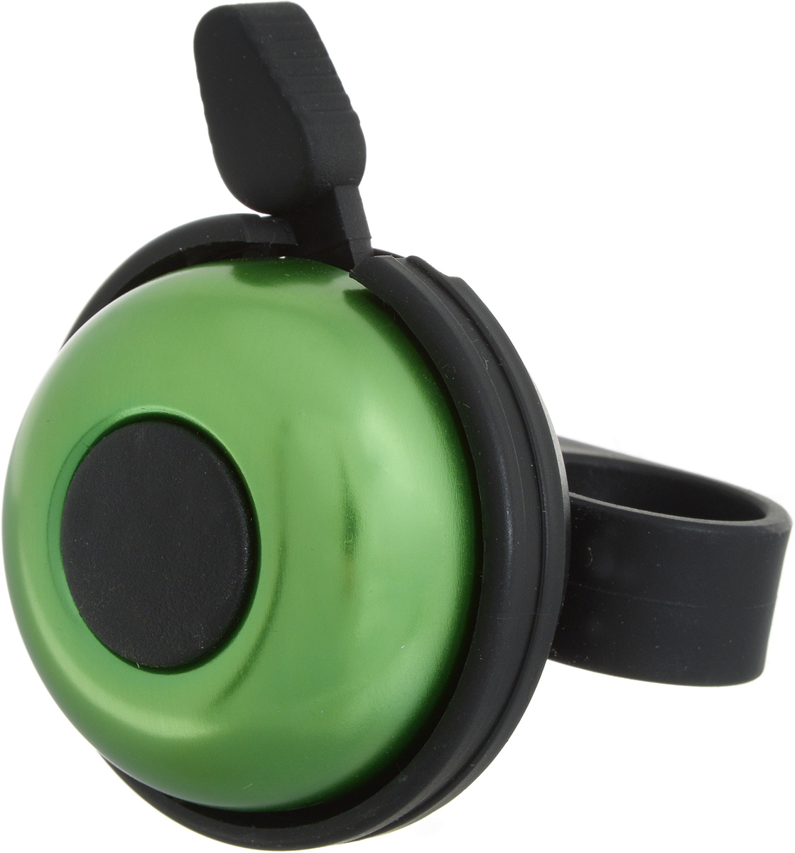 """Звонок """"Stern"""" изготовлен из металла и пластика. Изделие крепится на руль велосипеда и позволяет привлечь внимание в опасных ситуациях. Оригинальный звонок сделает вашу езду безопасной. Диаметр звонка: 5 см."""