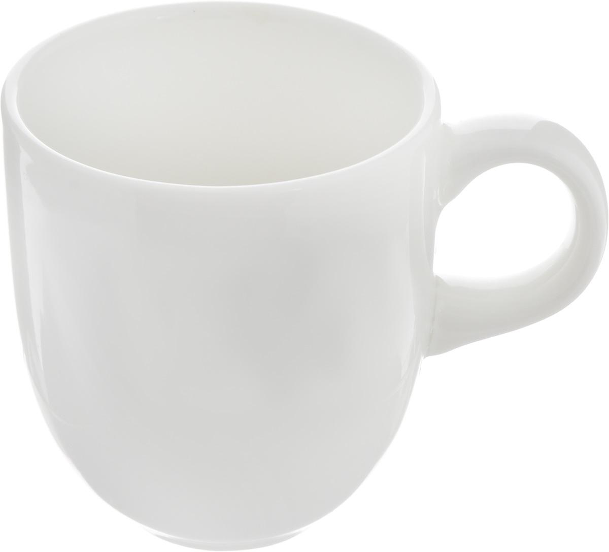 """Кофейная чашка Ariane """"Коуп"""" изготовлена из высококачественного фарфора с глазурованным  покрытием. Приятный глазу дизайн и отменное качество чашки будут долго радовать вас.  Чашка Ariane """"Коуп"""" украсит сервировку вашего стола и подчеркнет прекрасный вкус хозяина.  Можно мыть в посудомоечной машине и использовать в микроволновой печи.Диаметр  чашки (по верхнему краю): 5,5 см.Высота соусника: 6,5 см."""