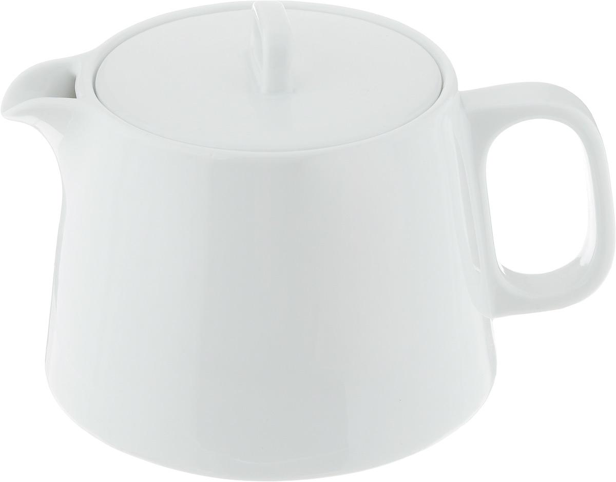 Чайник заварочный Tescoma Gustito, 1,2л386490Заварочный чайник Tescoma Gustito изготовлен из высококачественного фарфора. Глазурованное покрытие обеспечивает легкую очистку. Изделие прекрасно подходит для заваривания вкусного и ароматного чая, а также травяных настоев. Оригинальный дизайн сделает чайник настоящим украшением стола. Он удобен в использовании и понравится каждому.Можно мыть в посудомоечной машине и использовать в микроволновой печи. Диаметр чайника (по верхнему краю): 9,5 см. Высота чайника (без учета крышки): 11 см.