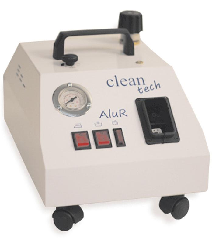 Bieffe Alur пароочистительBF013FRBieffe Alur - компактный прибор для дезинфекции паром с ручным заливом воды в котел. Мощности 1300 Вт достаточно для работы в течение 30-40 минут. Время первичного нагрева всего 5-7 минут. Оборудование подходит для регулярного использования в небольших частных клиниках и стоматологических кабинетах, лабораториях по производству медикаментов, образовательных учреждениях и общежитиях.Горячий пар мгновенно очистит вытяжку и плиту на кухне, удалит ржавчину в ванной и туалете, справится с плесенью и неприятными запахами, отмоет пробковые и деревянные полы. Данная модель также успешно обновит и почистит меховые изделия.Профессиональный парогенератор для дезинфекции Alur особенно удобен для обработки небольших площадей, узких и труднодоступных мест, инструментов и прочих предметов небольшого размера. В комплекте имеется шесть различных насадок: две латунные щетки для разных поверхностей, насадка для стекол и зеркал, треугольный отпариватель, прямоугольный отпариватель, тонкая насадка с изгибом для пара.В чем же состоит главный плюс использования данного прибора? Пароочиститель не просто удалит загрязнения, сложные пятна и неприятный запах, также он удалит с поверхности вредоносные бактерии и микробы, эффективно устранит грибок и плесень и проведет обеззараживание стерильных приборов.Система электроснабжения: однофазнаяТемпература пара в бойлере максимум: 165 °СДавление пара в бойлере: 5 барПодача пара: 2 кг/чМатериал корпуса: нержавеющая стальМатериал котла: медьВремя готовности к работе: 7 минут