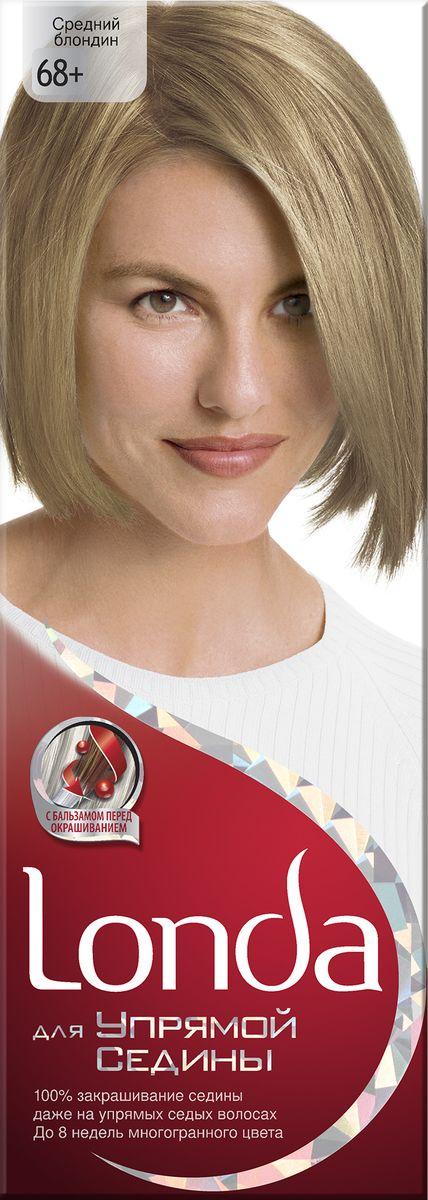 Londa Крем-краска для волос Londa Stubborn Greys для упрямой седины стойкая 68 Средний блондин краски для волос londa крем краска для волос стойкая 28 пепельно белокурый