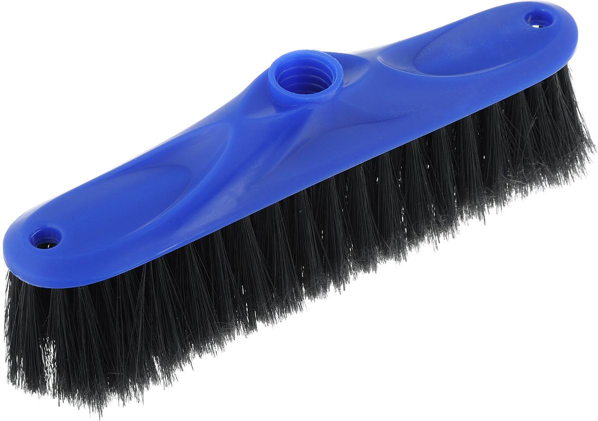 Щетка для пола Svip Аделия, цвет: синий, черный, без ручки, 24 х 4,5 х 8,5 смSV3110СНЩетка для пола Svip Аделия изготовлена из пластика. Распушенная щетина из полипропилена более эффективно притягивается пыль и мусор, не оставляю царапин на поверхностях. Может использоваться как в домашних, так и промышленных целях. Щетка долговечна и устойчива к погодному воздействию. Универсальная резьба подходит ко всем видам ручек. Щетка станет незаменимым помощником по хозяйству. Размер щетки: 24 х 4,5 см.Длина ворса: 5,5 см.Диаметр резьбы: 2 см.