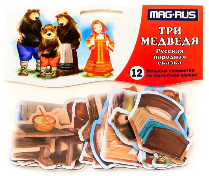 Mag-Rus Набор магнитов Русская народная сказка Три медведя