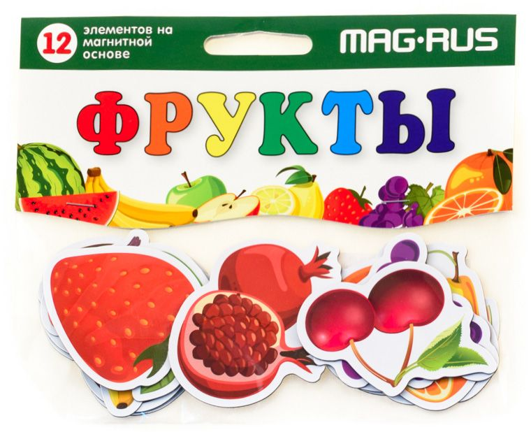 Mag-Rus Мозаика Фрукты mag rus мозаика магнитная деревенский дворик