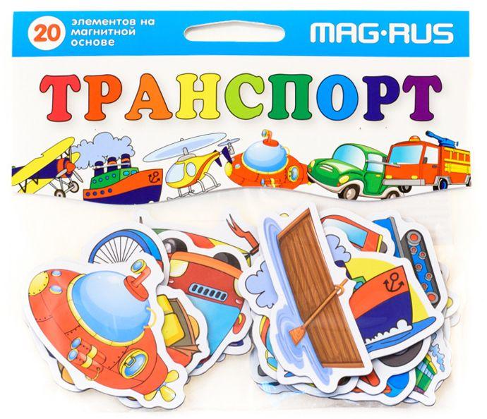 Mag-Rus Мозаика Транспорт mag rus мозаика магнитная деревенский дворик