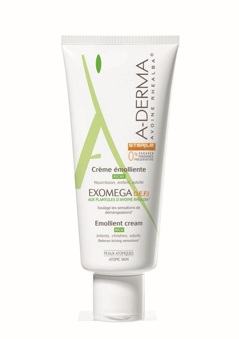 A-Derma Экзомега D.E.F.I. Смягчающий крем, 200 млC36907Смягчающий крем - это деликатное средство (эмолент) для ухода за атопичной и очень сухой кожей. Способствует снижению сухости, покраснения и раздражения атопичной и очень сухой кожи. Усиливает естественные защитные свойства кожи. Увлажняет и питает кожу, улучшая состояние кожи на длительное время. Уникальная, запатентованная технология упаковки D.E.F.I обеспечивает сохранение стерильности состава, как до вскрытия упаковки, так и на протяжении всего времени использования средства.Подходит для взрослых, подростков, детей, младенцев. Для лица и тела.