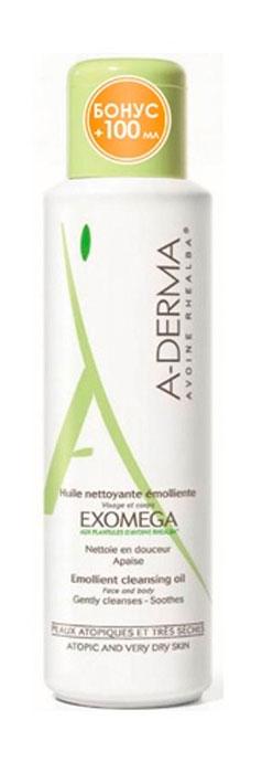 A-Derma Экзомега Смягчающее очищающее масло, 500 мл a derma