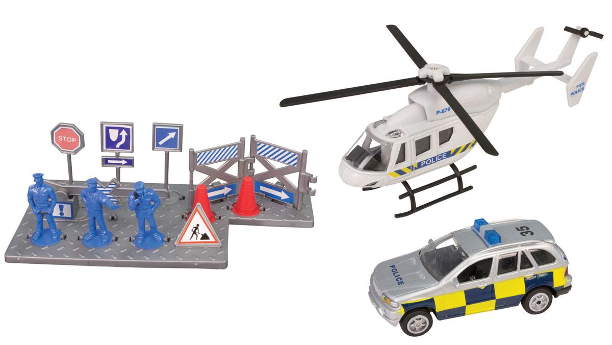 HTI Игровой набор Полицейская команда hti большая пожарная станция teamsterz