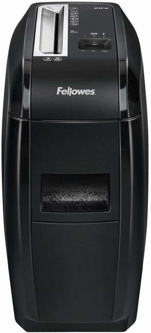 Fellowes Powershred 21Cs, Black шредер fellowes powershred shredmate black шредер