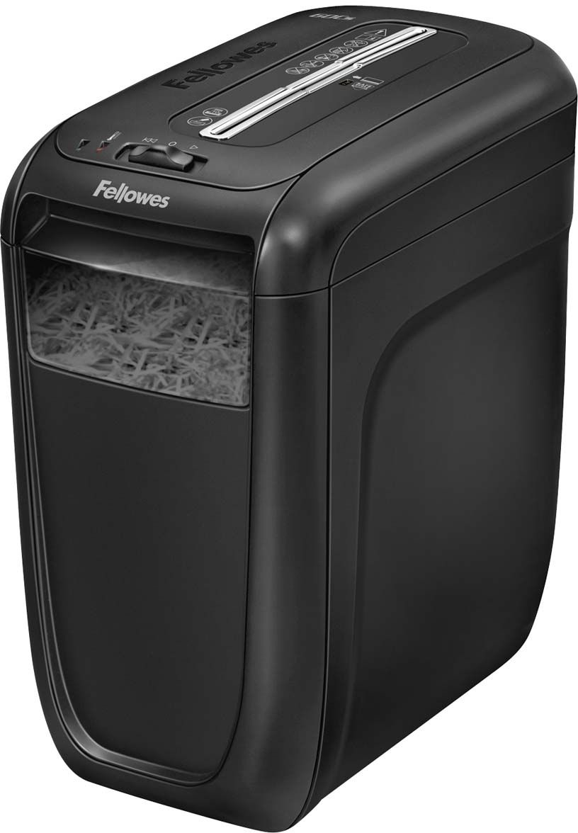 Fellowes Powershred 60Cs, Black шредер fellowes powershred shredmate black шредер